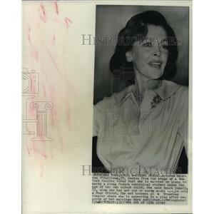 1966 Press Photo actress Maureen O'Sullivan in New York - mjp42631
