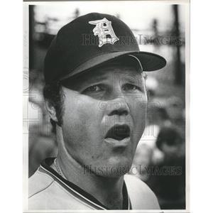 1975 Press Photo Detroit Tigers baseball player, Bill Freehan - mjt05992