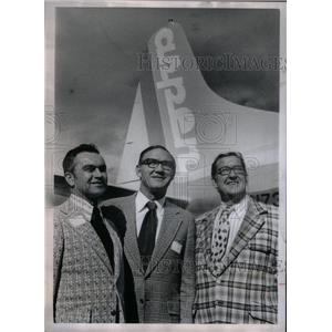 1973 Press Photo Aspen Airways inaugurates Jet craft - RRX36283