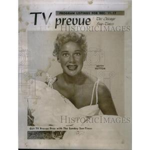 1955 Press Photo Actress Betty Hutton - RRX46815
