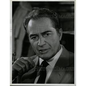 1968 Press Photo Rossano Brazzi Italian Actor - RRW18787