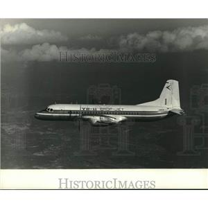 1967 Press Photo Twin-Engined YS-11 Turboprop Japan's First Postwar Airliner