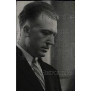 1935 Press Photo Ernest Ayers Policeman Murder Trial - RRW81225