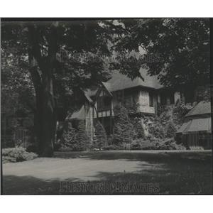 1948 Press Photo Home of John Sensenbrenner in Menasha, Wisconsin - mjx76194