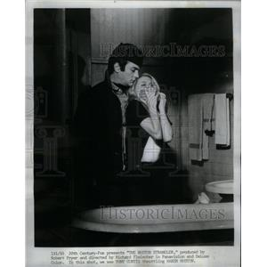 1968 Press Photo Karen Huston Actress Tony Curtis Actor - RRX58293