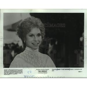 1963 Press Photo Mary Tyler Moore in Six Weeks - mjc32875