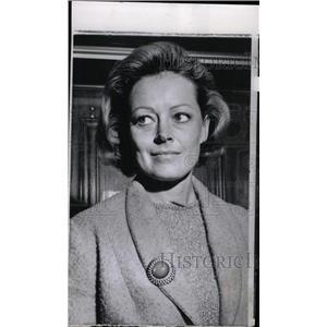 1965 Press Photo Actress Victoria Shaw - RRW75791