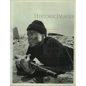 1968 Press Photo Warren Stevens guest stars in The Rat Patrol - mjc34081