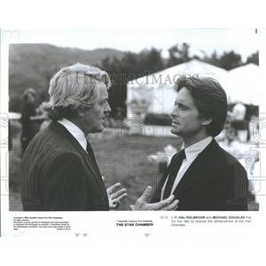 1983 Press Photo Michael Douglas, American Actor.