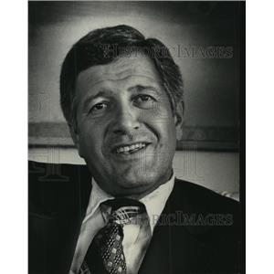 1975 Press Photo Alex Grammas, Milwaukee Brewers manager - mjt09302