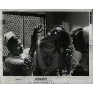 1967 Press Photo Valley Of Dolls Film Nurses Restrain - RRW61955