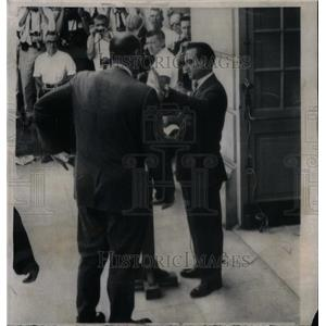 1963 Press Photo Governor Wallace Opposes Integration - RRX50405