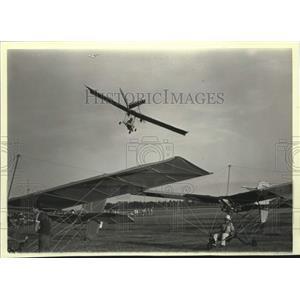 1983 Press Photo Glider planes at an Experimental Aircraft Association show