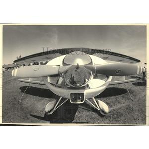 1984 Press Photo Plane on display at the Experimental Aircraft show, Oshkosh