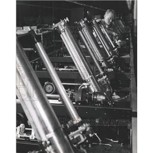 1966 Press Photo Honeywell Computer System cylinders - RRW43319