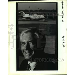 1991 Press Photo Joe Knecht, New Orleans Aviation Board chairman - nob52024