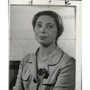 1961 Press Photo Irish Actress Siobhan McKenna - RRW83077