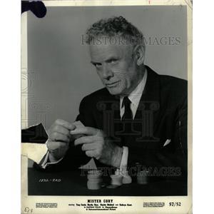 1961 Press Photo Charles Bickford - RRW20265