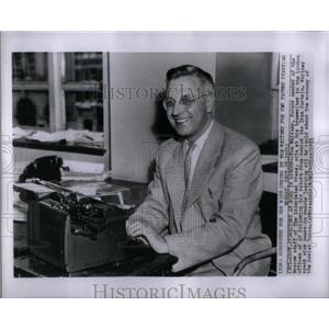 1953 Press Photo Tom Whitney Moscow Associated Press - RRX55515