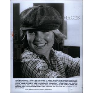 1977 Press Photo Tatum 'ONeal Film TV Actress Chicago - RRX60399