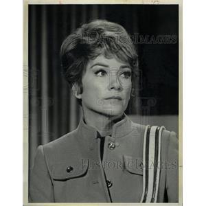 1968 Press Photo Anne Baxter American artist contract - RRW09877