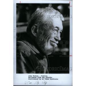 1985 Press Photo John Huston actor director Hollywood - RRX44991
