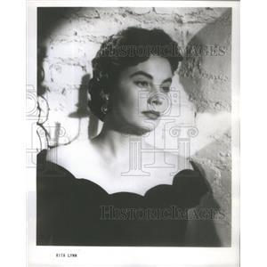 1952 Press Photo American Actress Rita Lynn- RSA98333