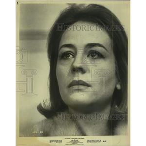 1968 Press Photo Annie Girardot stars in Live for Life. - sap03703