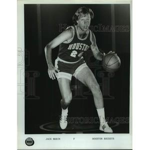 Press Photo Houston Rockets basketball player Jack Marin - sas17748
