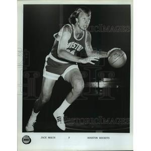 Press Photo Houston Rockets basketball player Jack Marin - sas17747