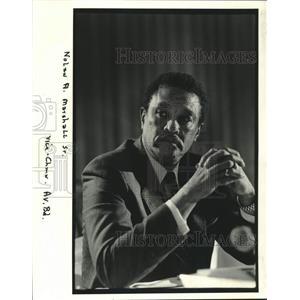 1982 Press Photo Nolan A. Marshall Sr., Aviation Board Vice Chairman - nob67830
