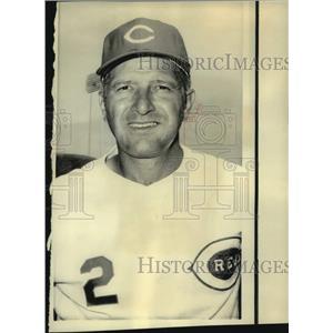 1975 Press Photo Milwaukee Brewers baseball manager Alex Grammas - nos14475