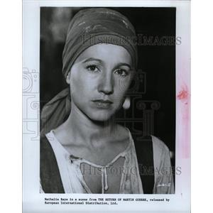 1980 Press Photo Actress Natalie Baye - RRW24843