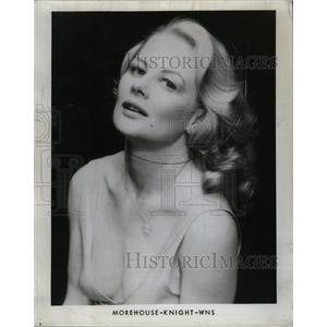 1976 Press Photo Shirley Enola Knight American Stage - RRX73007