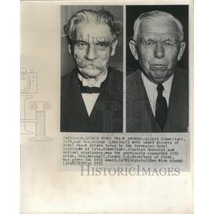 1953 Press Photo Nobel Peace Prize Winners - RRX89041