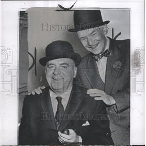 1958 Press Photo Actor Pat O Brien - RRW36519
