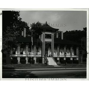 1988 Press Photo Michigan Cities Marshall Home - RRW68011