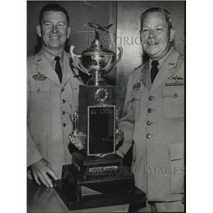 1959 Press Photo Colonel Cary Nall, Commander, Alabama Wing, Civil Air Patrol