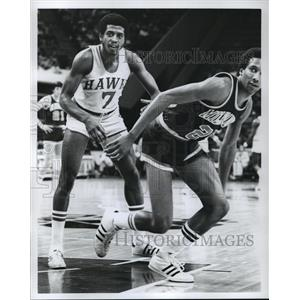Press Photo Atlanta Hawks Basketball Game - mja67334