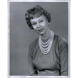 1959 Press Photo Actress Rosemary Rainer Portrait - RRX37579