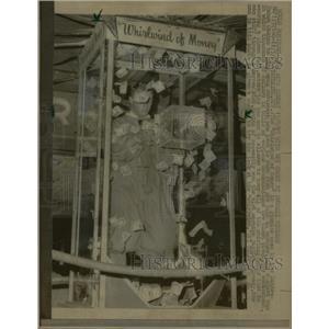 1967 Press Photo Whirlwind of Money Saharatahoe Casino