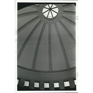 1992 Press Photo Interior View of Dome in Civil Rights Museum - abna46678