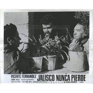 1974 Press Photo Jalisco Nunca Pierde Film Actors Promo - RRX98375