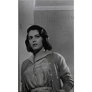1959 Press Photo Susan Kohner Film Actress Chicago - RRW98019