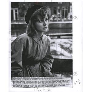 1961 Press Photo Dolores Hart actress Inspector camp - RRW32011