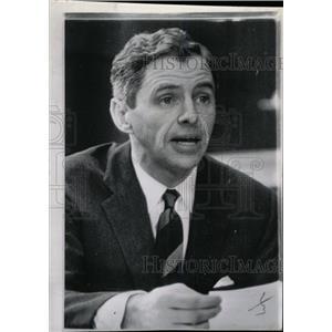 1962 Press Photo James Thomas Aubrey Jr American Island - RRW80171
