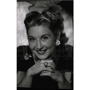1947 Press Photo BETTY GARRETT AMERICAN ACTRESS SINGER - RRW97939