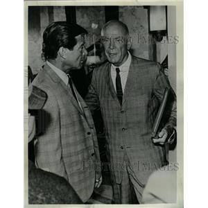 1967 Press Photo Dean Jagger in an episode of The FBI - RRW08883
