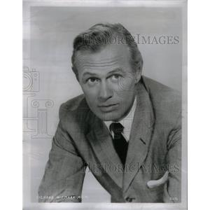 1962 Press Photo Richard Widmark Hollywood Movie Actor - RRX57915
