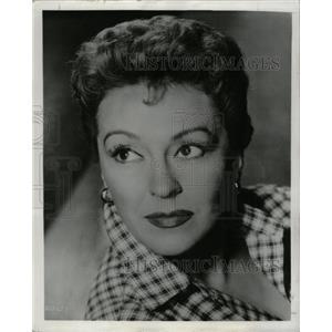 1957 Press Photo Nancy Kelly American Film Actress - RRY75599